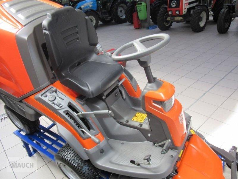 husqvarna rider rc 320 ts awd mit fangkorb neuheit tractor. Black Bedroom Furniture Sets. Home Design Ideas
