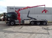 Scania P400 8x2 HMF H44K1TS with Hyvalift 26.48 S Hooklift Euro 5 Abrollcontainer
