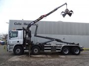 DAF CF 85.380 8x2 Hyvalift26 Tons Hooklift HMF 1144K1TS Crane Container cu role