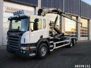Scania P 420 6x2 Euro 5 Hiab 16 ton/meter laadkraan Container cu role