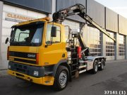 Ginaf M 3232-S Hiab 16 ton/meter Kran Container cu role