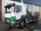 Abrollcontainer des Typs Scania P 114.380 6x4 Retarder Manual Full steel in ANDELST