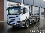 Abrollcontainer des Typs Scania P 320 8x2/6 Euro 5 EEV Retarder Only 63200 km! in ANDELST