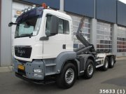 MAN TGS 41.360 8X4 BB Container cu role