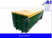 A1-Container ECOLINE 35m³ mit Rollplane Container cu role