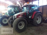 Steyr 9086 M A T + Stoll FL-Konsole Tractor
